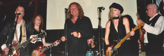 Terry Reid, Waddy Wachtel, Robert Plant, Phil Jones, Stacy Michelle, Keith Allison  2004
