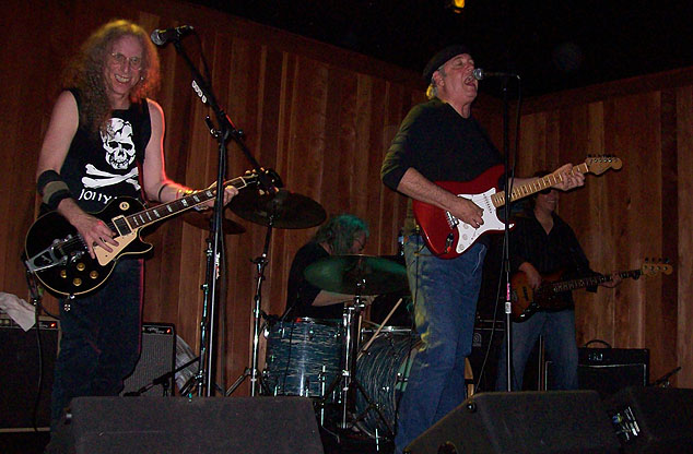 Waddy Wachtel, Phil Jones, Keith Allison, Al Ortiz