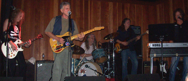 Waddy Wachtel, Johnny Rivers, Phil Jones, Rick Rosas, Brett Tuggle   8/24/09
