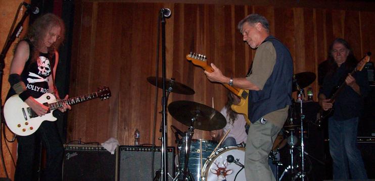 Waddy Wachtel, Phil Jones, Johnny Rivers, Rick Rosas