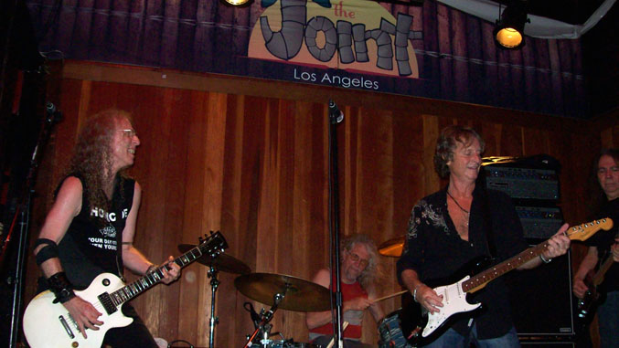 Waddy Wachtel, Phil Jones, Brett Tuggle, Rick Rosas