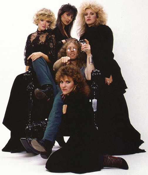 Waddy Wachtel with Stevie Nicks, Marilyn Martin, Sharon Celani, Lori Perry