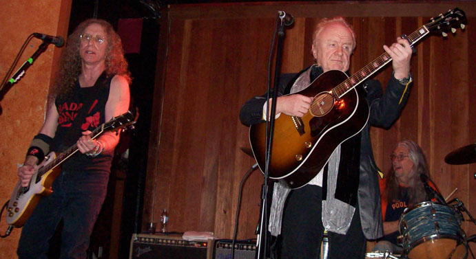 Waddy Wachtel, Peter Asher, Phil Jones