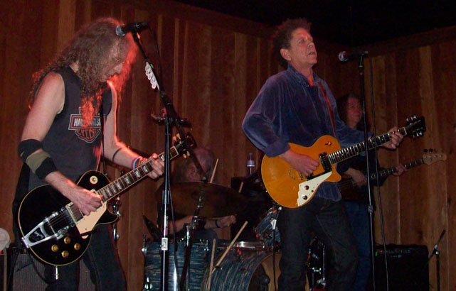 Waddy Wachtel, Phil Jones, Blondie Chaplin, Rick Rosas