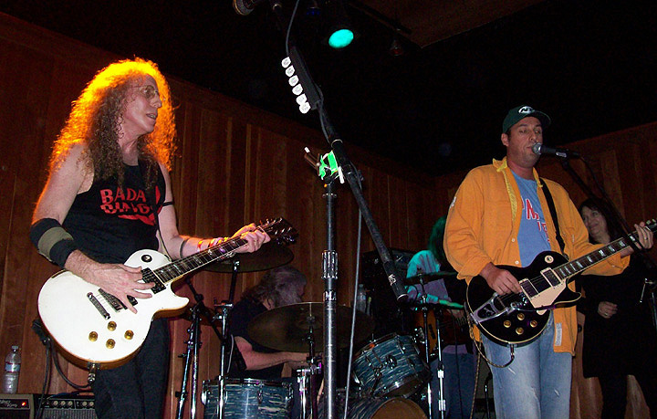 Waddy Wachtel, Phil Jones, Rick Rosas, Adam Sandler, Betsy Hammer - Waddy Wachtel Band at The Joint Los Angeles 9/15/08
