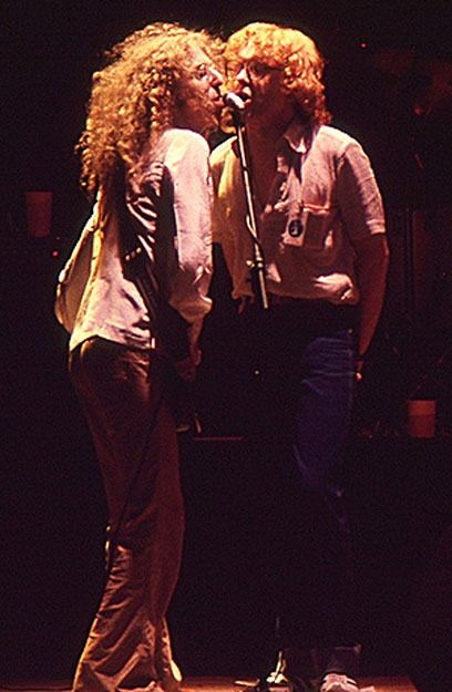 Waddy Wachtel, Peter Asher - 1977 on tour with Linda Ronstadt