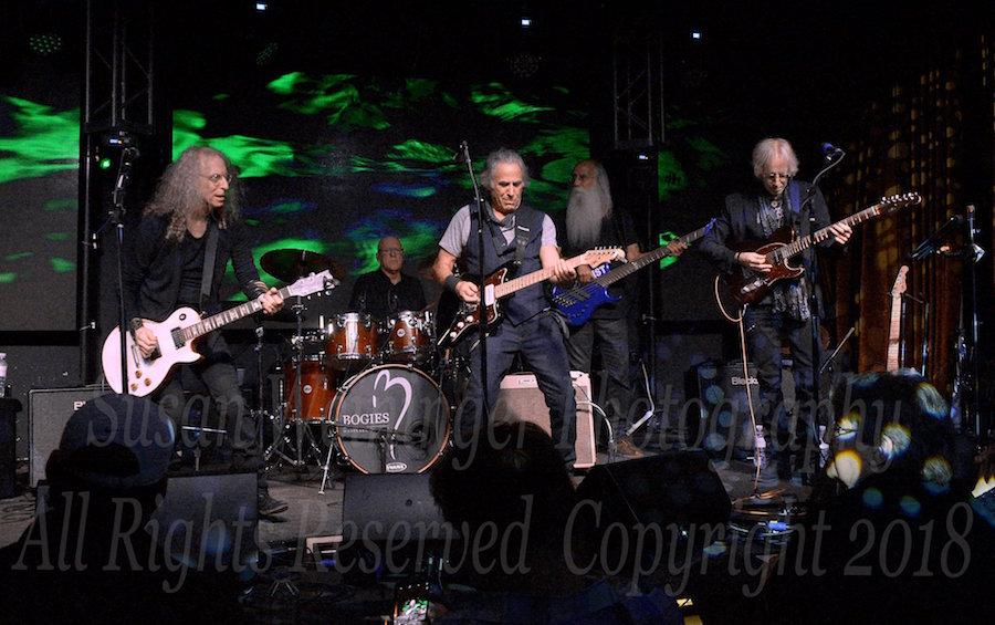 Waddy Wachtel, Russ Kunkel, Danny Kortchmar, Leland Sklar, Steve Postell - at Bogie's 7/1/18