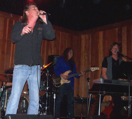 Jamie Savko, Rick Rosas, Brett Tuggle