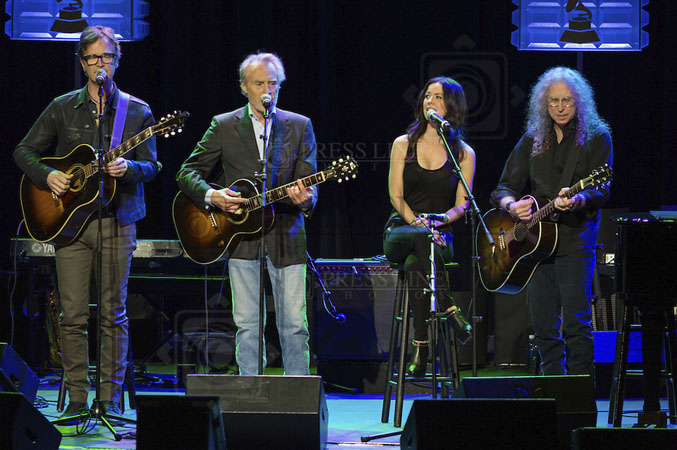 Dan Wilson, J. D. Souther, Joy Williams, Waddy Wachtel (photo by Paul A. Herbert)