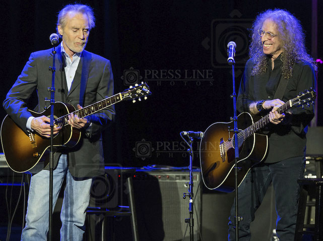 J. D. Souther, Waddy Wachtel (photo by Paul A. Herbert)