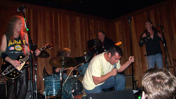 Waddy Wachtel, Phil Jones, Rick Rosas, Adam Sandler, Jamie Savko -  Waddy Wachtel Band at The Joint 12/14/09