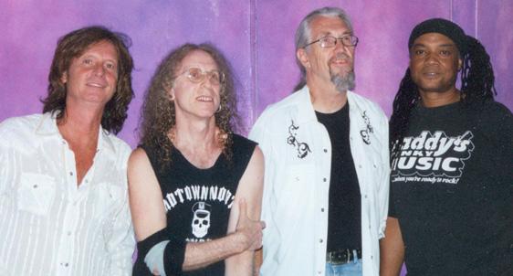 Brett Tuggle, Waddy Wachtel, Phil Jones, Angus Thomas - August 2006