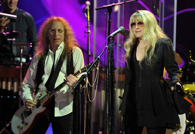 Waddy Wachtel, Stevie Nicks Tribute to Buddy Holly Concert 9/7/11 (Photo by Lester Cohen)