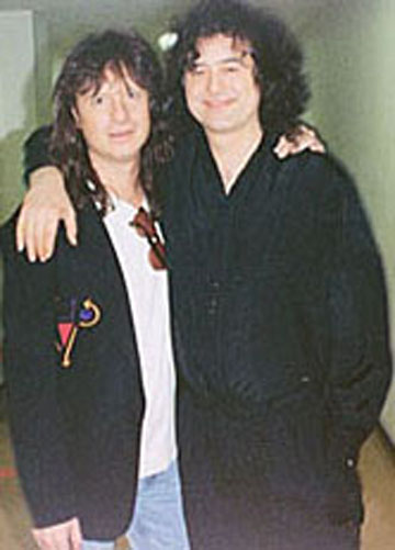 Brett Tuggle, Jimmy Page 1993