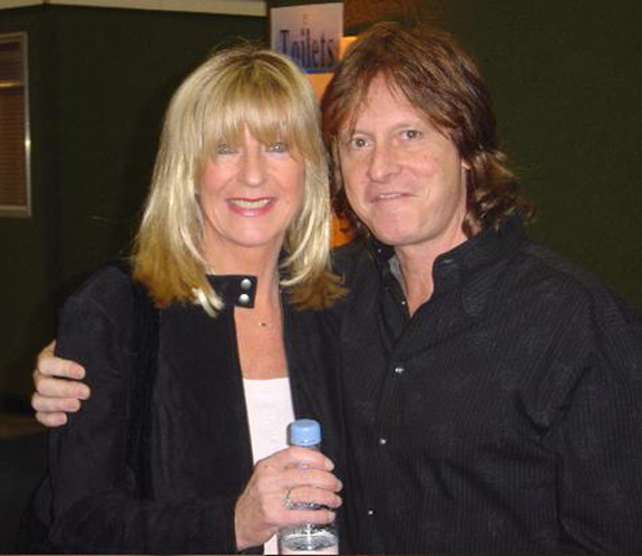 Christine McVie, Brett Tuggle - Fleetwood Mac Tour 1997