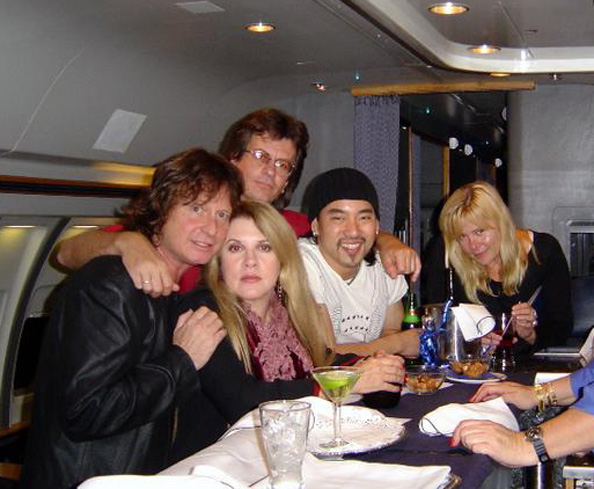 Brett Tuggle, Stevie Nicks, Neale Heywood, Taku Hirano, Christine McVie - Fleetwood Mac Tour 1997