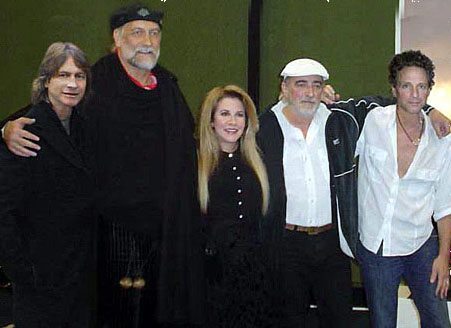 Brett Tuggle, Mick Fleetwood, Stevie Nicks, John McVie, Lindsey Buckingham - Fleetwood Mac Tour 1997