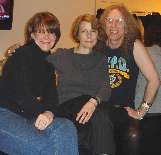 Donna Cazakoff, Nadine Kraman, Waddy Wachtel - The Today Show 2005