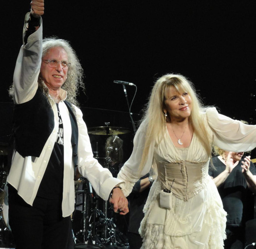 Waddy Wachtel, Stevie Nicks In Your Dreams Tour 9/1/11 (Photo by Kara Gordon)