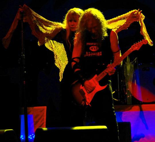 Stevie Nicks, Waddy Wachtel 9/1/11 (photo by Kara Gordon)