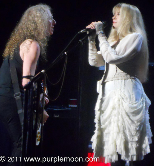 Waddy Wachtel, Stevie Nicks (photo by Michelle Cohn)