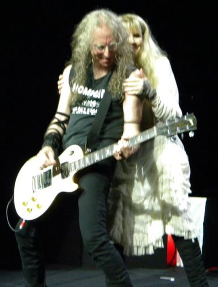 Waddy Wachtel, Stevie Nicks In Your Dreams Tour (Photo by Ryan Jones)