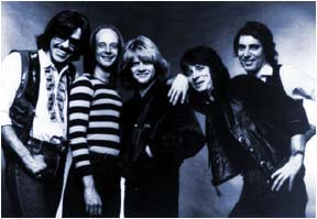 Steppenwolf:  John Kay, Steve Palmer, Michael Palmer, Brett Tuggle, Chad Peery 1981