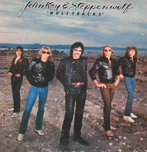 Steppenwolf:  Chad Peery, Michael Palmer, John Kay, Steve Palmer, Brett Tuggle 1981