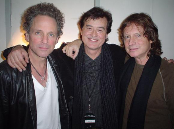 Lindsey Buckingham, Jimmy Page, Brett Tuggle - Fleetwood Mac tour 1997