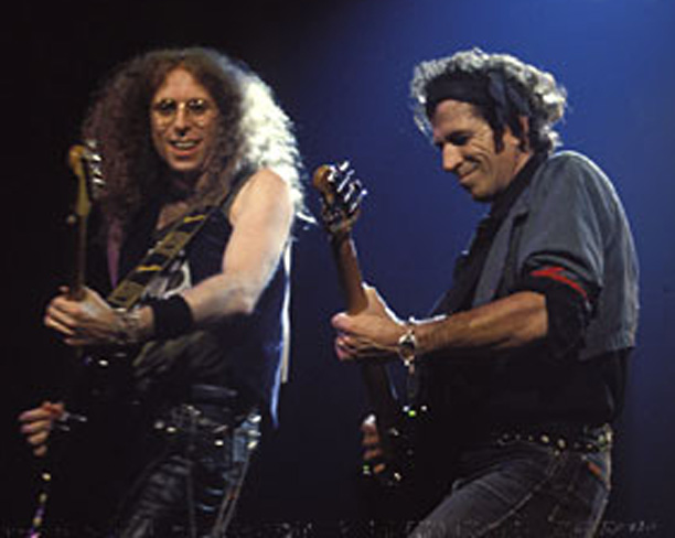 Waddy Wachtel, Keith Richards, Main Offender Tour, London 1992