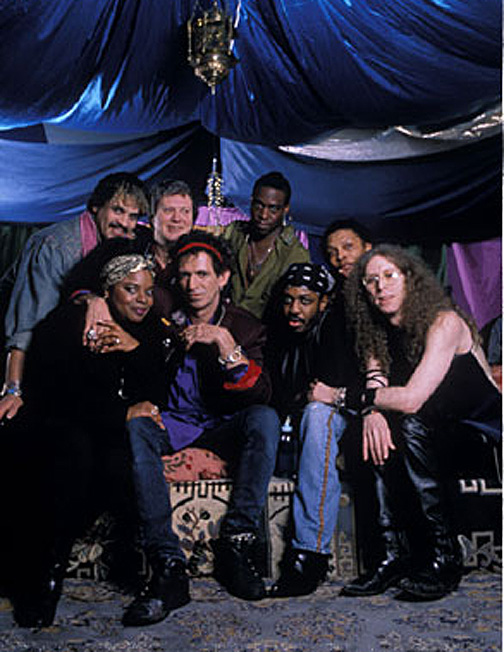 Top Row: Babi (Bobby) Floyd, Bobby Keys, Jerome Smith
