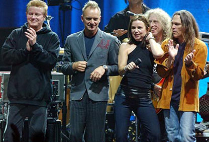 Don Henley, Sting, Waddy Wachtel, Timothy B. Schmidt