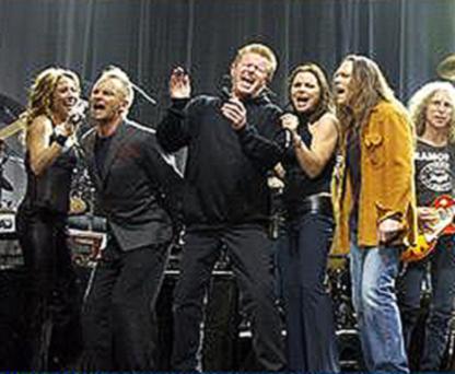 Sheryl Crow, Sting, Don Henley, Timothy B. Schmidt, Waddy Wachtel