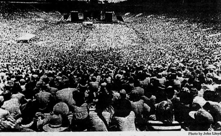 Rose Bowl - Peace Sunday 1982