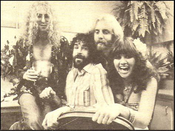 Waddy Wachtel, Kenny Edwards, Andrew Gold, Linda Ronstadt 1976