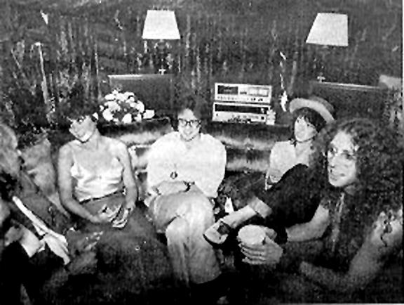 Linda Ronstadt, Peter Asher, Mackenzie Phillips, Waddy Wachtel 1978