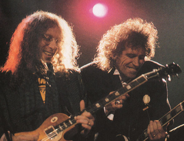 Waddy Wachtel, Keith Richards Talk Is Cheap Tour, Nov. - Dec. 1988