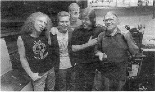 Waddy Wachtel, Johnny Rivers, Jack Tempchin, George Thorogood, Henry Diltz - Waddy Wachtel Band at The Joint 2001