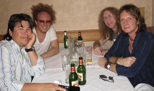 Al Ortiz, Jimmy Paxson, Waddy Wachtel, Brett Tuggle - On tour with Stevie Nicks in Australia 2006