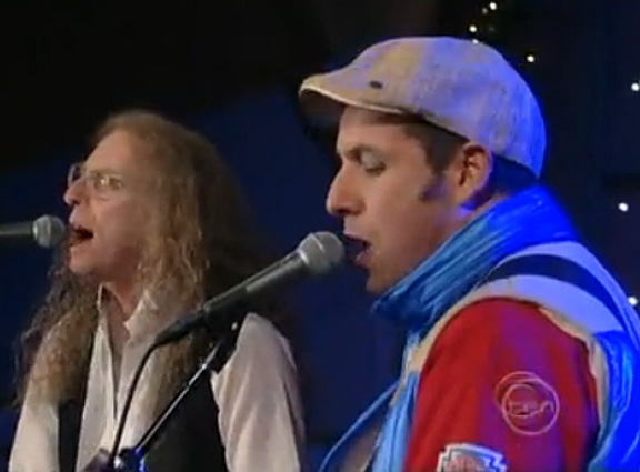 Waddy Wachtel, Adam Sandler -  Late Night With David Letterman 2008