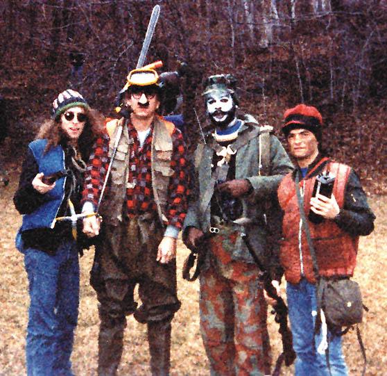 Waddy Wachtel, Joe Walsh, George Perry, Joe Vitale 1983