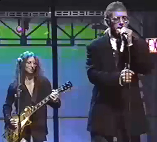 Waddy Wachtel, Warren Zevon Late Night with David Letterman 1991