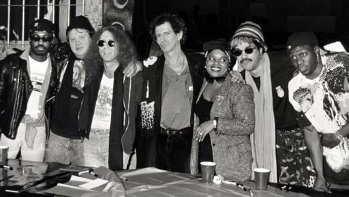 Steve Jordan, Bobby Keys, Waddy Wachtel, Keith Richards, Sarah Dash, Babi (Bobby) Floyd, Jerome Smith
