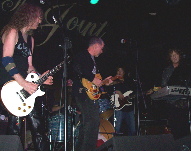 Waddy Wachtel, Phil Jones, Johnny Rivers, Al Ortiz, Brett Tuggle