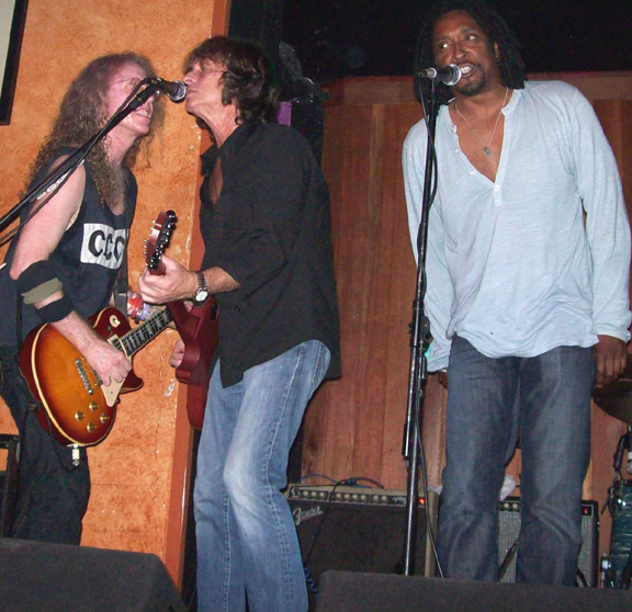 Waddy Wachtel, Brett Tuggle, Bernard Fowler