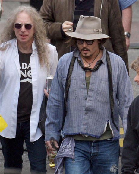 Waddy Wachtel, Johnny Depp 2010