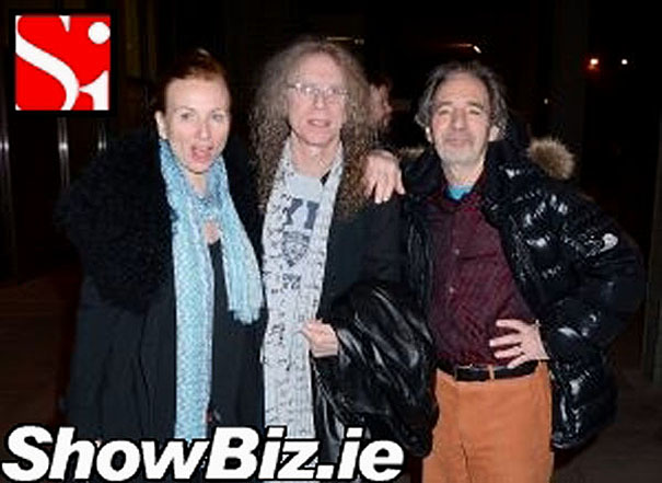 Judith Owen, Waddy Wachtel, Harry Shearer - The Late Late Show, Dublin, Ireland 3/7/14