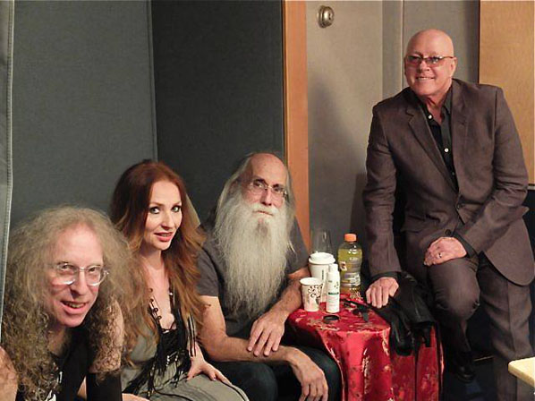 Waddy Wachtel, Judith Owen, Leland Sklar, Russ Kunkel - Press Showcase at Village Recorders 2/19/14