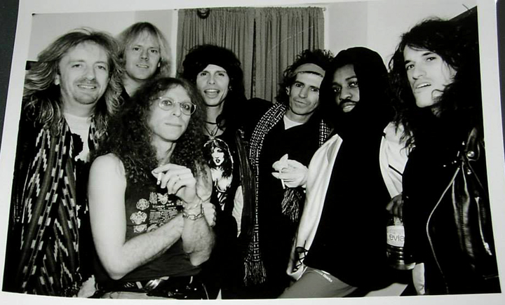 Brad Whitford, Tom Hamilton, Waddy Wachtel, 