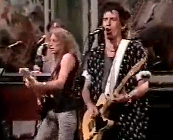 Waddy Wachtel, Keith Richards Saturday Night Live 1988